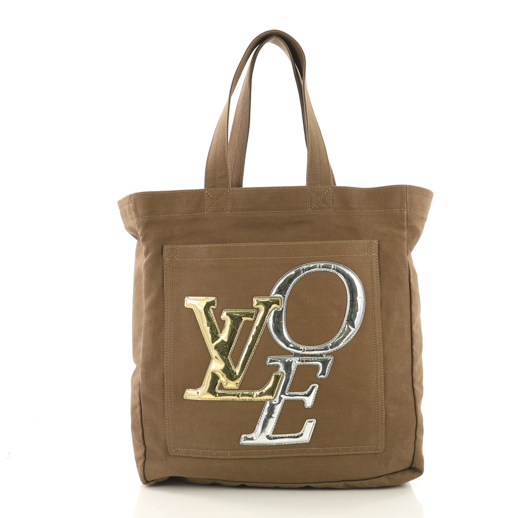 01f5f576bf3 Louis Vuitton That's Love Tote Canvas MM Brown 399061