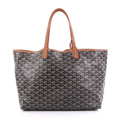 Goyard St. Louis Tote Coated Canvas PM Brown