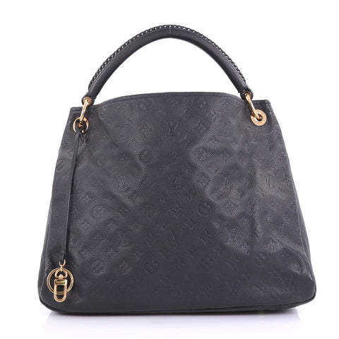 702431daf720 Louis Vuitton Artsy Handbag Monogram Empreinte Leather MM Blue – Rebag