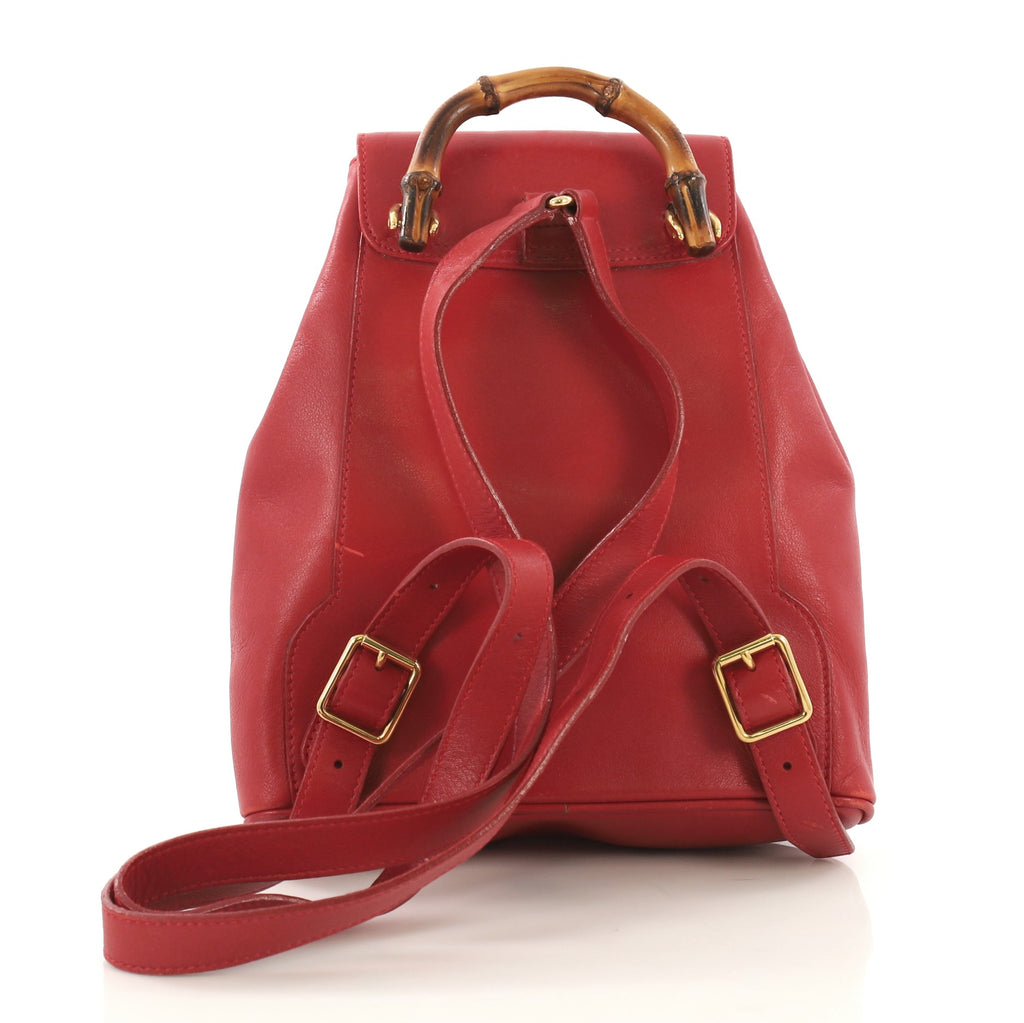 ca60afc6269f Red Leather Gucci Backpack – Patmo Technologies Limited