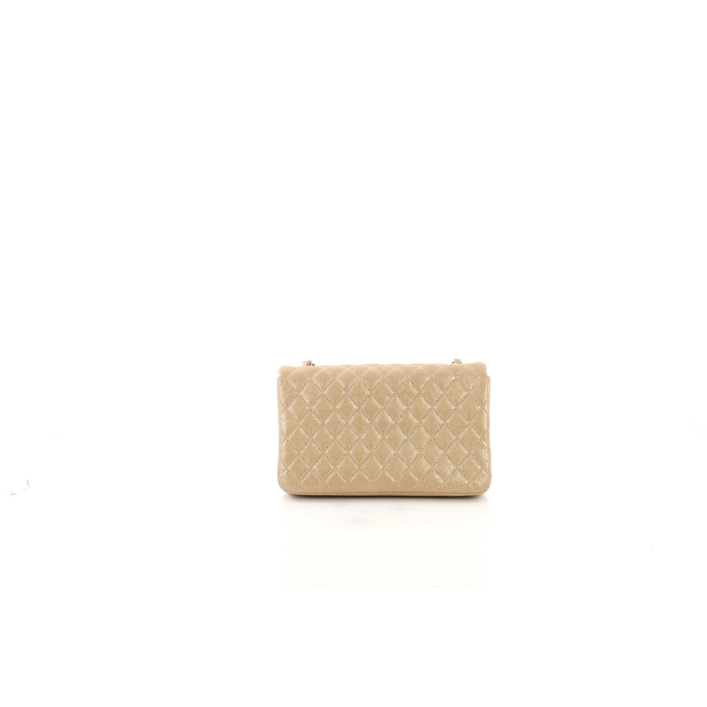 5444618e600c16 Chanel Pearl CC Crystal Flap Bag Quilted Iridescent Fabric 400711 ...