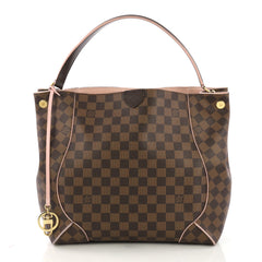 Louis Vuitton Caissa Hobo Damier Brown