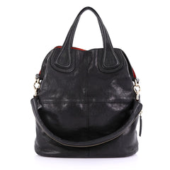 Givenchy Nightingale Satchel Leather Large Black
