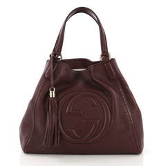 Soho Shoulder Bag Leather Medium