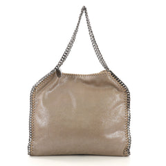 Stella McCartney Falabella Tote Shaggy Deer Small Neutral 40230/1