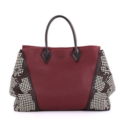 Louis Vuitton W Tote Patchwork Veau Cachemire Calfskin GM Red