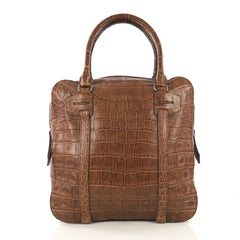 Burberry Gilroy Satchel Alligator Large - Designer Handbag - Rebag