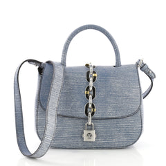 Louis Vuitton Chain It Handbag Epi Leather PM Blue