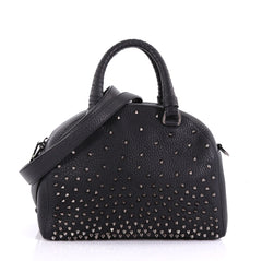 Christian Louboutin Panettone Convertible Satchel Spiked 403684