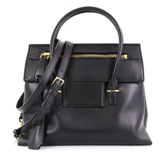 Tom Ford Icon Tote Leather Small Black