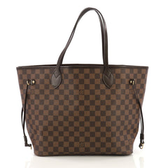 Louis Vuitton Neverfull NM Tote Damier MM Brown