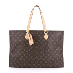 Louis Vuitton All In Handbag Monogram Canvas PM