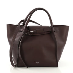 Celine Big Bag Grained Calfskin Small Purple