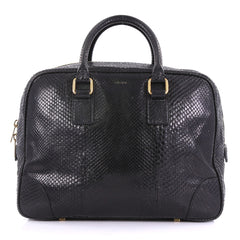 Celine Doctor Bag Python Medium Black