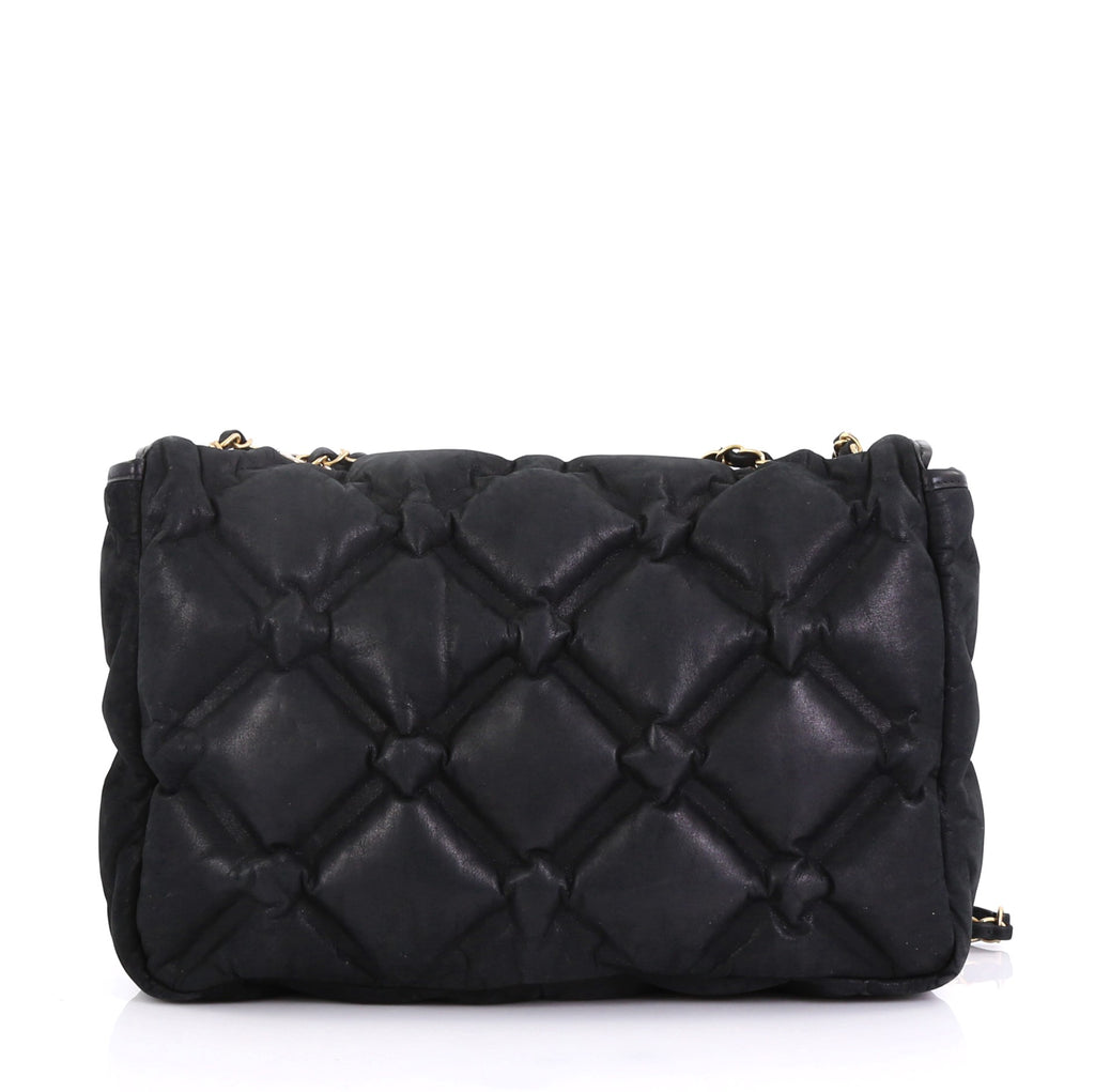 22caf85f78bd Chanel Chesterfield Flap Bag Quilted Iridescent Calfskin 4056847 – Rebag