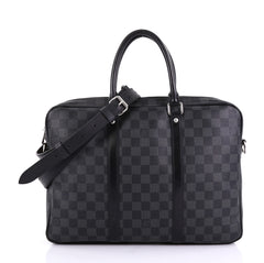 Louis Vuitton Porte-Documents Voyage Briefcase Damier Graphite PM