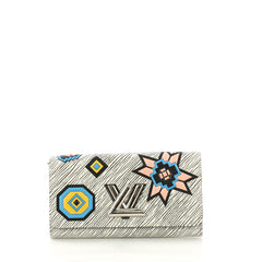 Louis Vuitton Twist Wallet Limited Edition Azteque Epi Leather