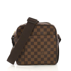 Louis Vuitton Olav Handbag Damier PM Brown
