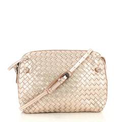 Bottega Veneta Crossbody Intrecciato Nappa Small Pink 406759