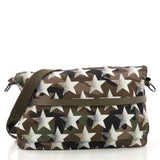 Valentino Model: Camustars Messenger Printed Camo Nylon Large  Green 40799/104