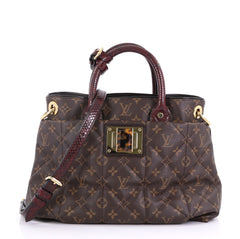 Louis Vuitton Limited Edition Exotique Handbag Monogram 408662