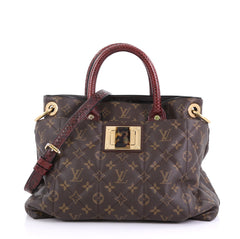 Louis Vuitton Limited Edition Exotique Handbag Monogram 408663