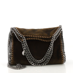 Stella McCartney Falabella Fold Over Crossbody Bag Faux 4088012