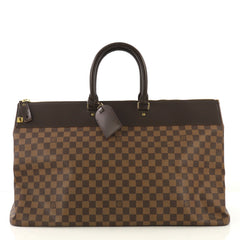 Louis Vuitton Greenwich Travel Bag Damier GM Brown 4090023