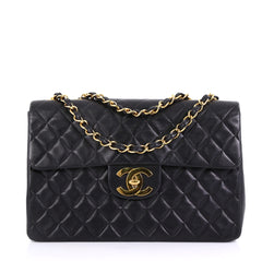 Chanel Vintage Classic Single Flap Bag Quilted Lambskin 4090045