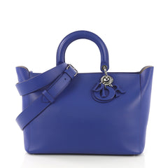 Christian Dior Diorissimo Zip Tote Smooth Calfskin Large 409131