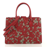 Gucci Convertible Gusset Tote Arabesque GG Coated Canvas 4101031