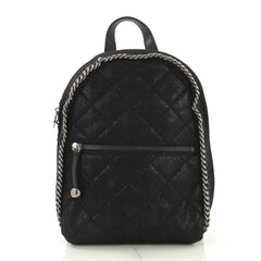 Stella McCartney Falabella Front Zip Backpack Quilted 4104511