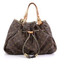 Louis Vuitton Irene Handbag Limited Edition Monogram Brown 411141