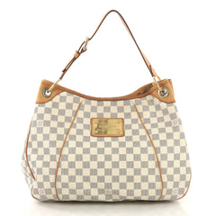 Louis Vuitton Galliera Handbag Damier PM White 411322
