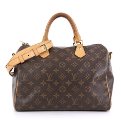 Louis Vuitton Speedy Bandouliere Bag Monogram Canvas 30 411351