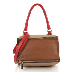 Givenchy Pandora Bag Leather Small Brown 411372