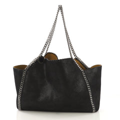 Stella McCartney Falabella Reversible Tote Shaggy Deer 4115642
