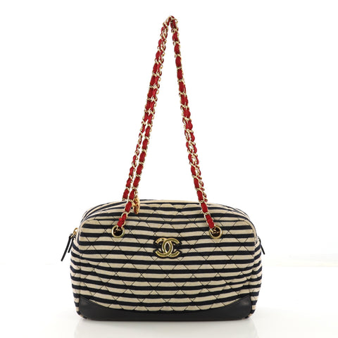 4dcb66a0f446 Chanel Coco Sailor Camera Bag Quilted Jersey and Lambskin 411902 – Rebag