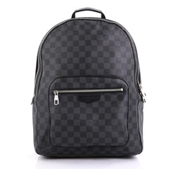 Louis Vuitton Josh Backpack Damier Graphite Black 412262