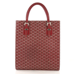 Goyard Comores Tote Coated Canvas GM Red 4125446