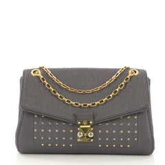 Louis Vuitton Saint Germain Handbag Studded Monogram 412544
