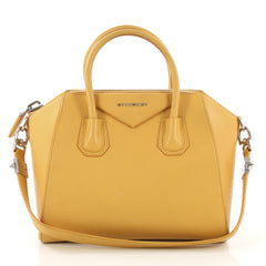 Givenchy Antigona Bag Leather Small Yellow 412731