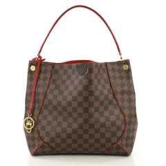 Louis Vuitton Caissa Hobo Damier Brown 4127740
