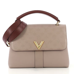 Louis Vuitton Very One Handle Bag Monogram Leather Neutral 4127782