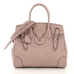Ralph Lauren Collection Soft Ricky Handbag Leather 27 neutral 412841