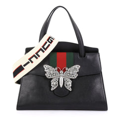 Gucci Totem Top Handle Bag Leather Medium - Rebag