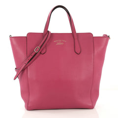 Gucci Convertible Swing Tote Leather Tall - Rebag