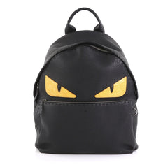 Fendi Selleria Monster Backpack Leather Large - Rebag