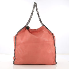 Stella McCartney Falabella Tote Shaggy Deer Large Pink 413742