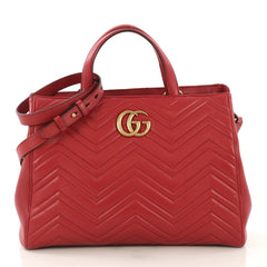 Gucci GG Marmont Tote Matelasse Leather Medium - Rebag